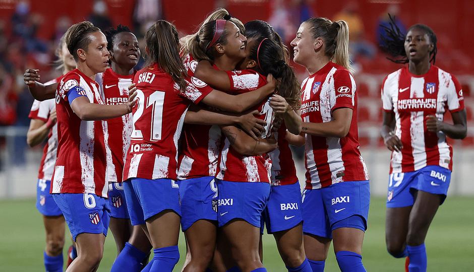 Temporada 2021/22 | Atlético de Madrid Femenino-Alavés | Celebración