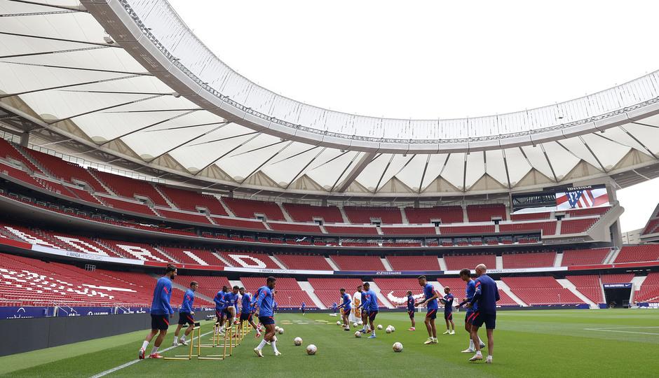 Temporada 2021/22 | Entrenamiento 1/10/21 | Wanda Metropolitano