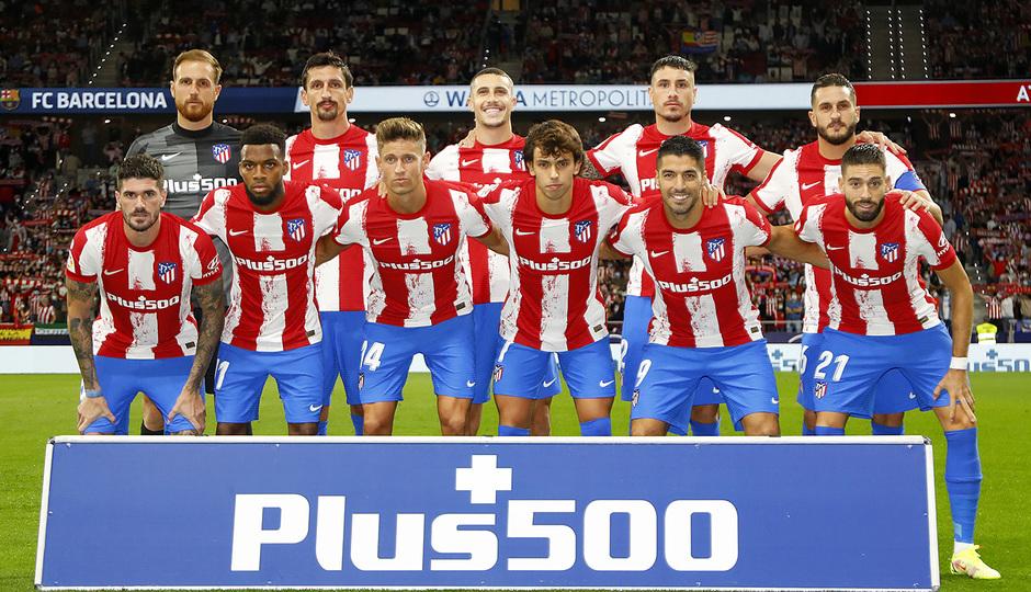 Temporada 2021/22 | Atlético de Madrid - FC Barcelona | Once