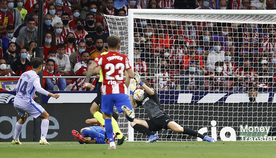 Temporada 2021/22 | Atlético de Madrid - FC Barcelona | Oblak
