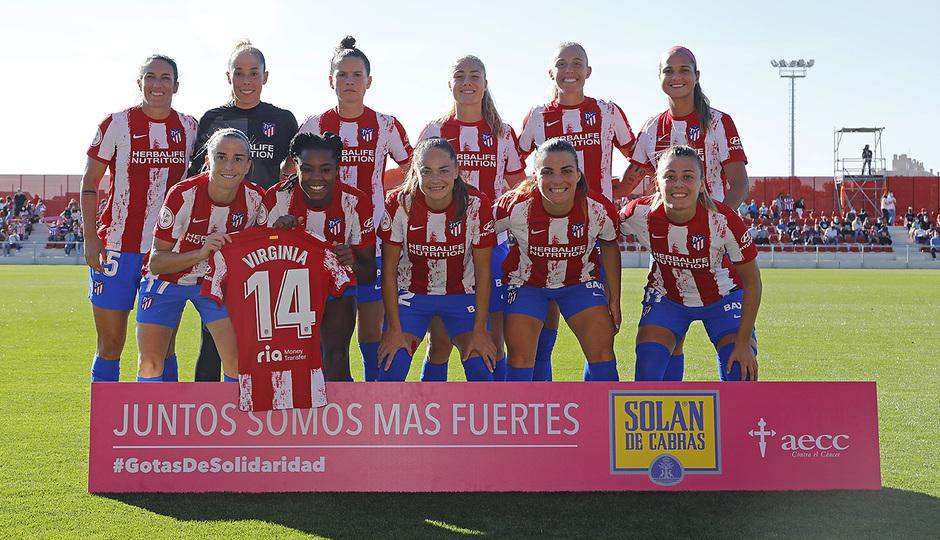 Temporada 21-22 | Atleti Femenino-Barcelona | Once