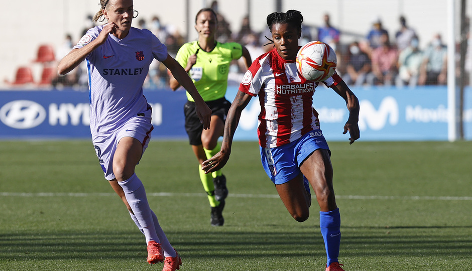 Temporada 21-22 | Atleti Femenino-Barcelona | Ludmila