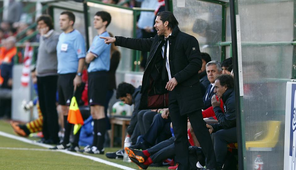Temporada 13/14. Copa del Rey. Sant Andreu Atlético de Madrid.