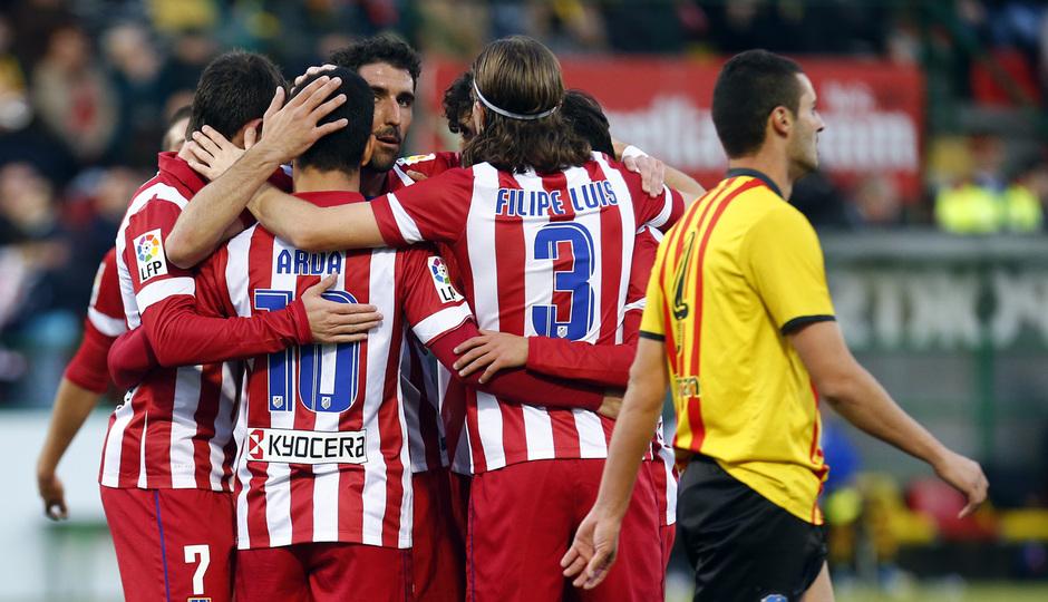 Temporada 13/14. Copa del Rey. Sant Andreu Atlético de Madrid