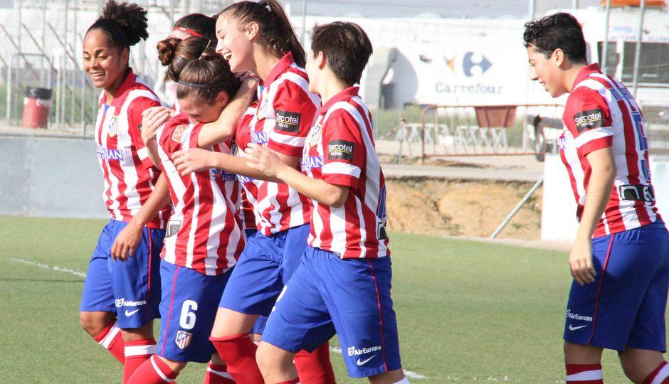 Temporada 2013-2014. Sevilla-Atlético de Madrid Féminas