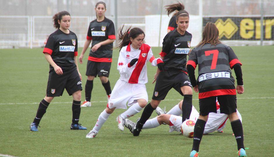 Temporada 2013-2014. Atlético de Madrid Féminas B-Rayo Vallecano