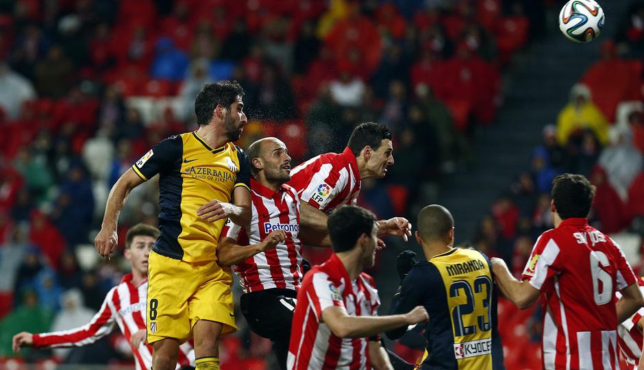 Temporada 13-14. Athletic Club - Atlético de Madrid. Copa del Rey. 1/4 final. Vuelta.