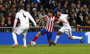 Temporada 13-14. Real Madrid - Atlético de Madrid. Copa del Rey. 1/2 final. Ida.