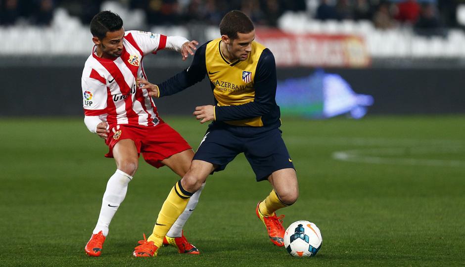 Temporada 13/14. Liga BBVA. Almería - Atlético de Madrid.