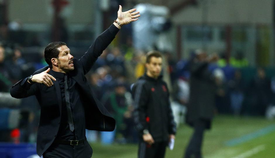 TEMPORADA 2013/14. Champions League. Milan-Atlético.