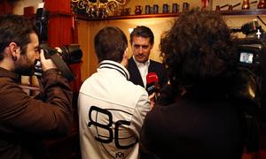 temporada 13/14. Acto presentación de la peña Raúl García de Pamplona