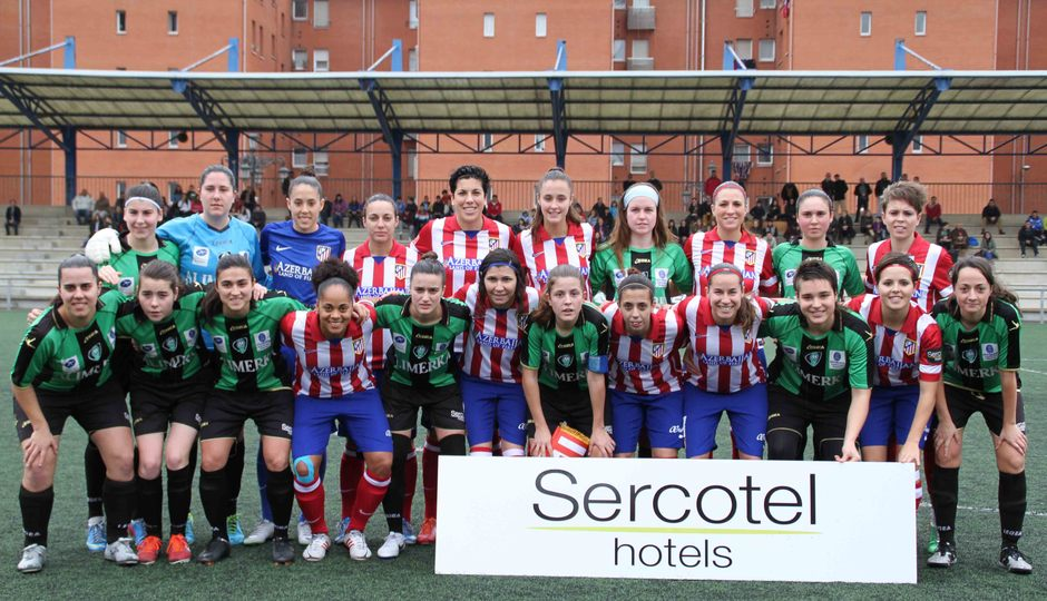 Temporada 2013-2014. Atlético de Madrid Féminas-Oviedo