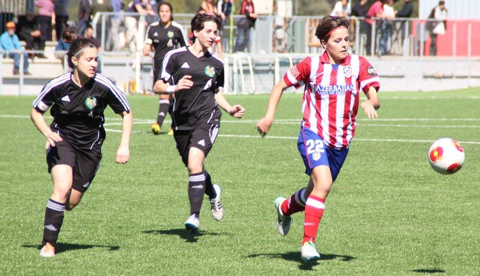 Temporada 2013-2014. Atlético de Madrid Féminas-Transportes Alcaine