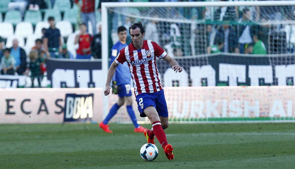 Temporada 13-14. Betis - Atlético de Madrid.