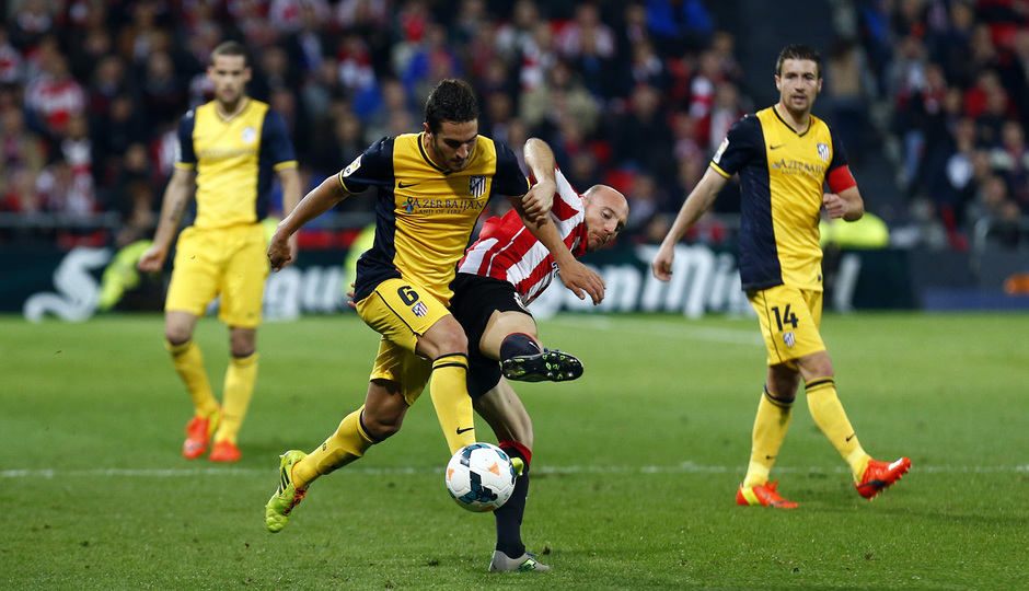 Temporada 13/14. Athletic Club - Atlético de Madrid.