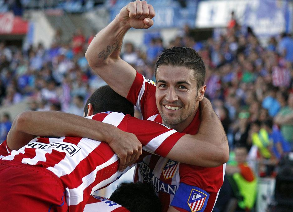 Temporada 13/14. Getafe - Atlético de Madrid. Alex