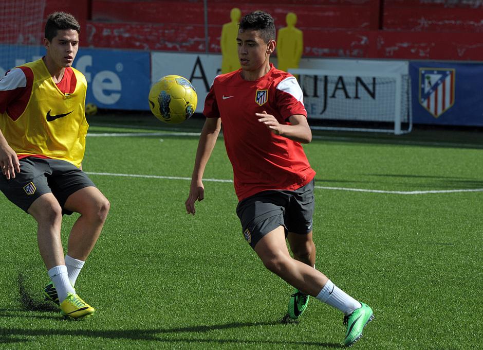 Intensidad y competitividad son algunas de las armas de este Atlético Madrileño Cadete que participará en la Nike Cup