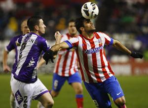 Temporada 2012-13. Diego Costa volvió al equipo y lo hizo marcando contra el Real Valladolid en Zorrilla.