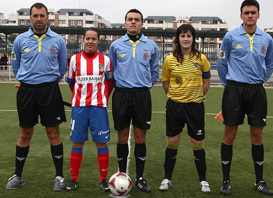 Temporada 2012-2013. Capitanas del Atlético y SD Lagunak