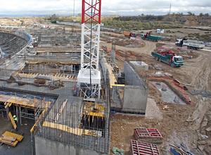 Fotos Obras Nuevo Estadio Noviembre 2014