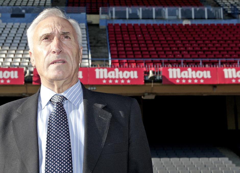 Rodri, en una imagen actual en el Estadio Vicente Calderón