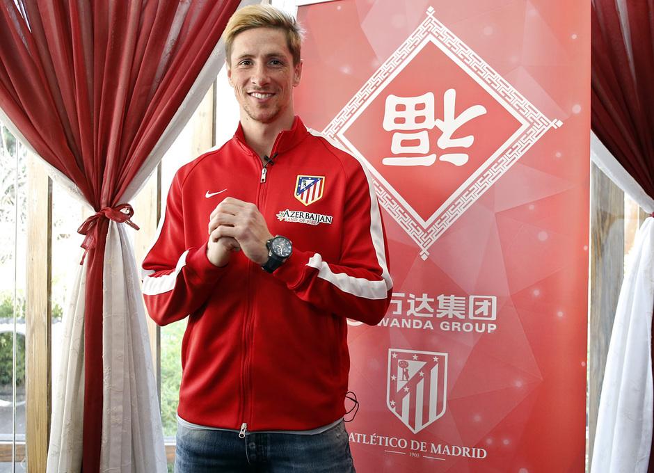 Fernando Torres felicita el Año Nuevo Chino