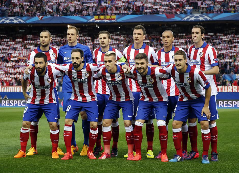Temporada 14-15. Cuartos de final de la Champions League. Ida. Atlético de Madrid-Real Madrid. Nuestro once ante el Real Madrid.