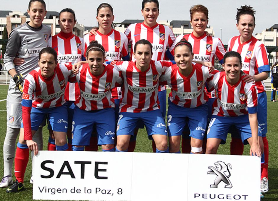 Temporada 2012-2013. Once titular del Féminas ante el Levante Las Planas