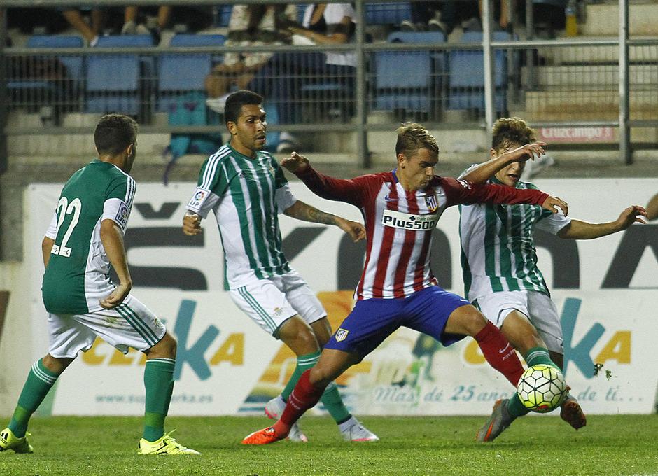 Pretemporada 15/16. Trofeo Carranza ante el Real Betis