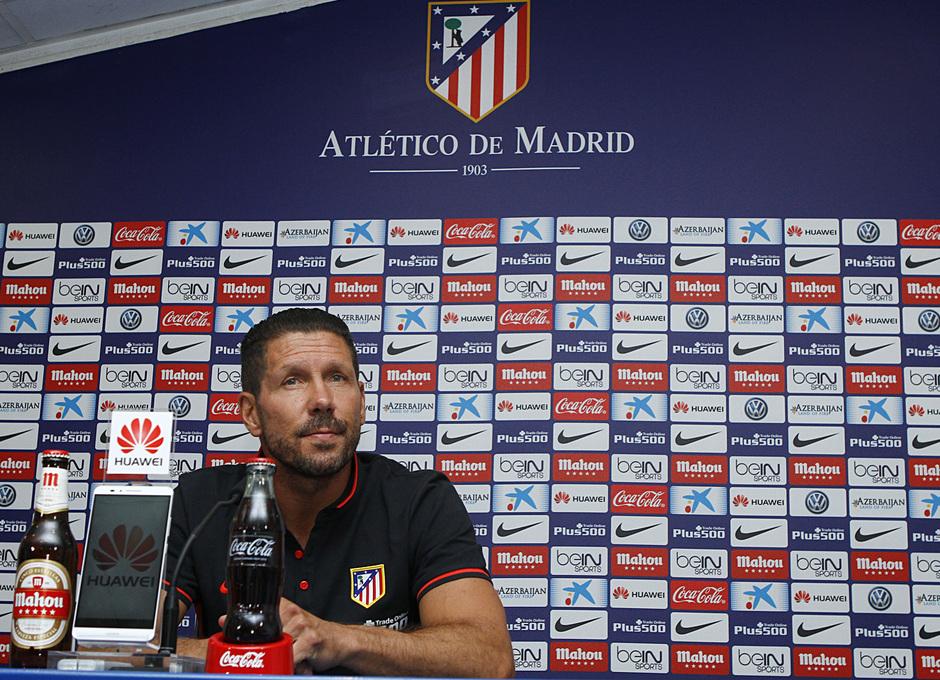 Temp. 2015-2016. Rueda de prensa Diego Pablo Simeone partido UD Las Palmas