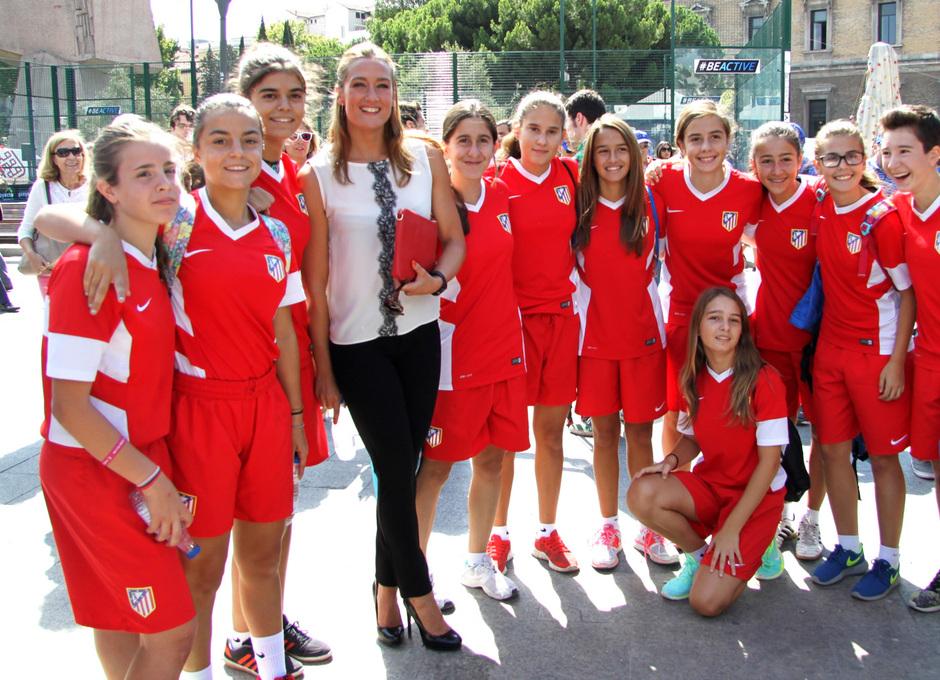 Temp. 2015-2016. Acto en Colón I Semana del Deporte Europea