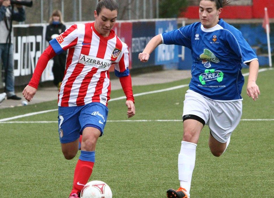 Temporada 2012-2013. Priscila gana en velocidad a la central del UD Collerense