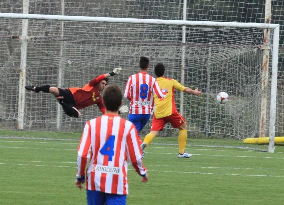 Gol del Atlético C ante el Collado Villalba