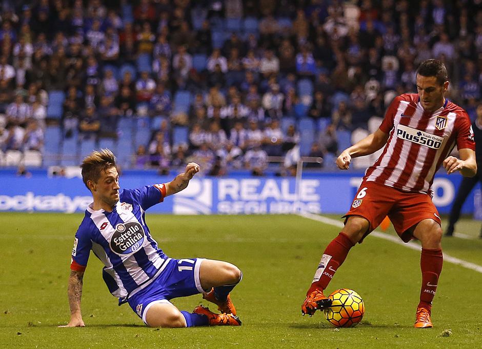 Deportivo de la Coruña - Atlético de Madrid. 10ª jornada de la Liga.