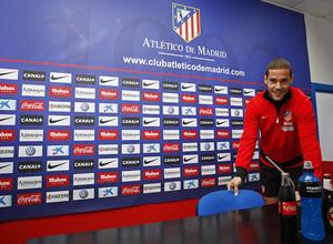 Mario Suárez dio rueda de Prensa el Jueves Santo, 28 de marzo