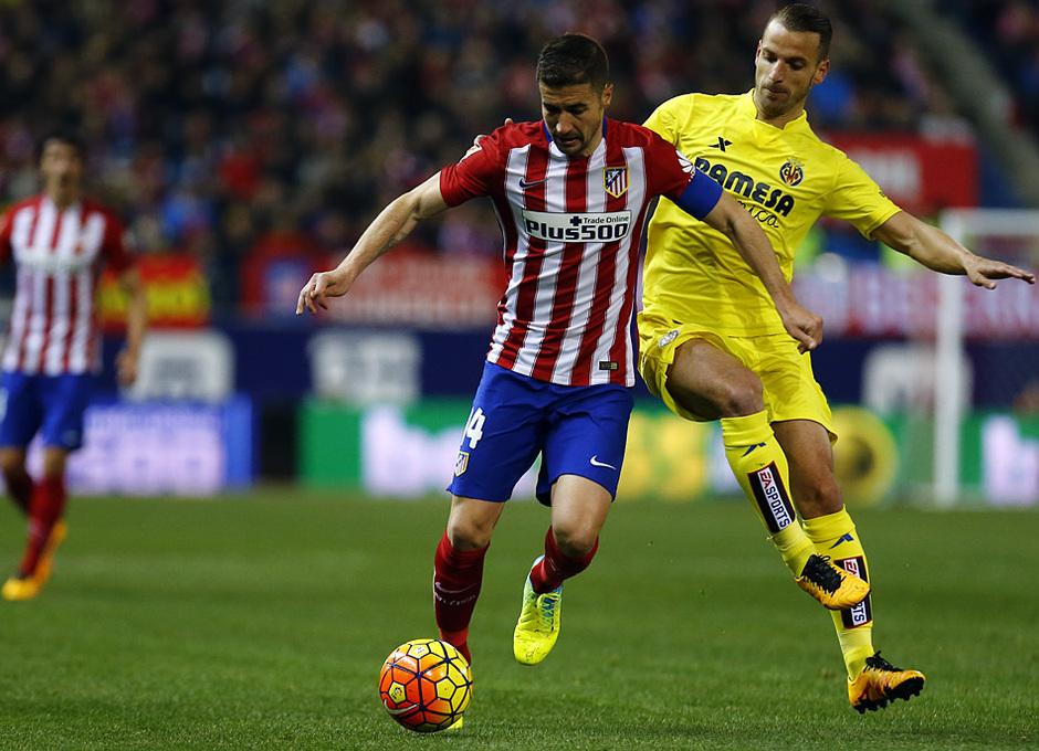 Temp. 2015-2016 | Atlético de Madrid - Villarreal | Gabi