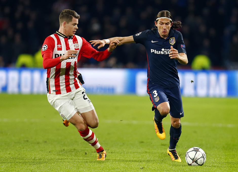 Temp. 2015-2016 | PSV - Atlético de Madrid | Filipe Luis