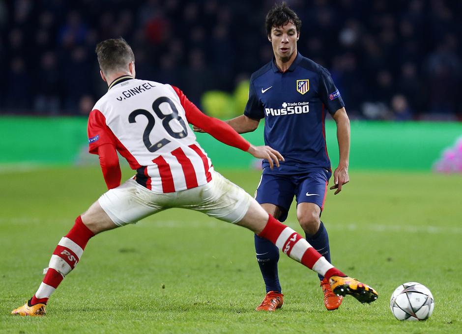 Temp. 2015-2016 | PSV - Atlético de Madrid | Óliver Torres