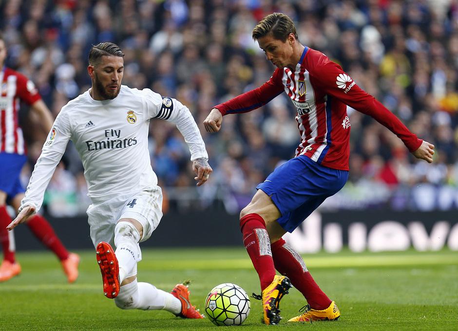 Temp. 2015-2016   Real Madrid - Atlético de Madrid   Fernando Torres