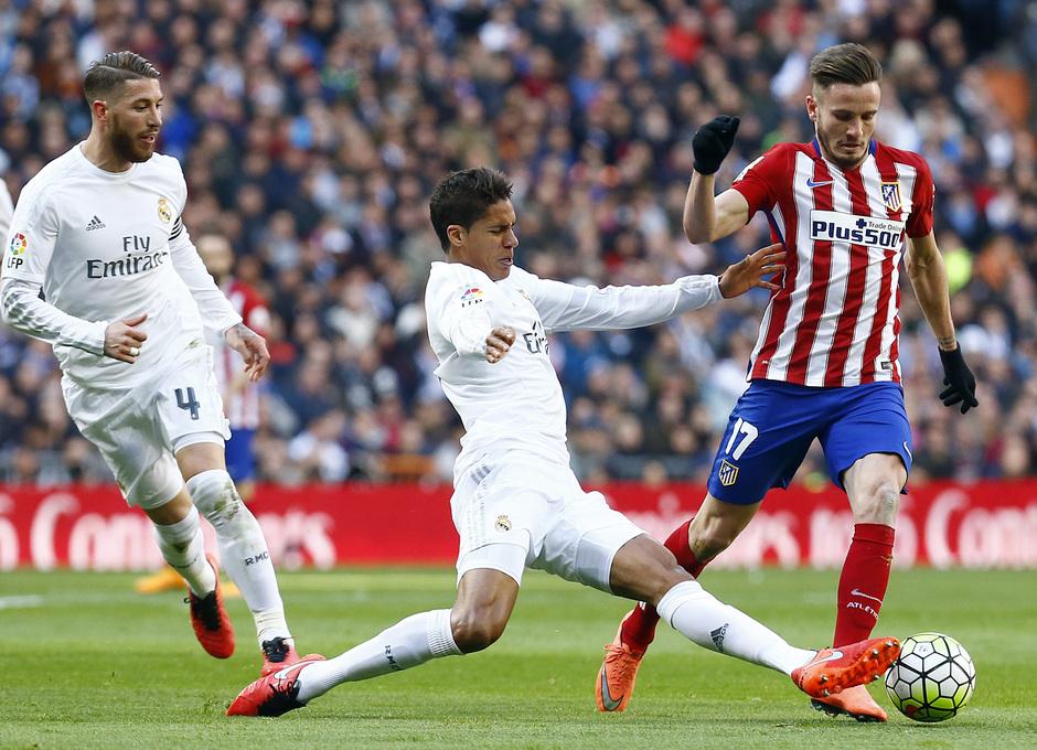 Temp. 2015-2016   Real Madrid - Atlético de Madrid   Saúl