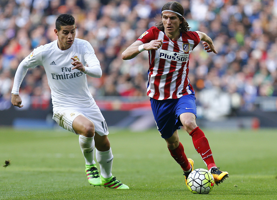 Temp. 2015-2016   Real Madrid - Atlético de Madrid   Filipe Luis