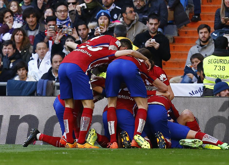 Temp. 2015-2016   Real Madrid - Atlético de Madrid   Celebración