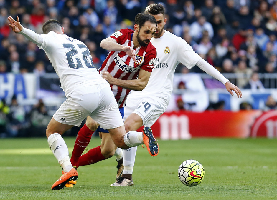 Temp. 2015-2016 | Real Madrid - Atlético de Madrid | Juanfran