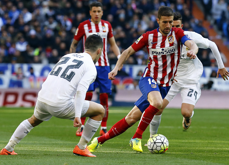 Temp. 2015-2016   Real Madrid - Atlético de Madrid   Gabi