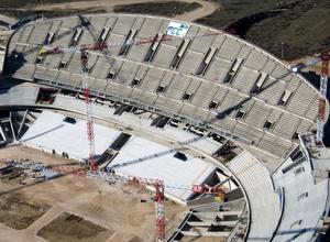 Temp. 2015-2016 | Nuevo Estadio | Vista aérea