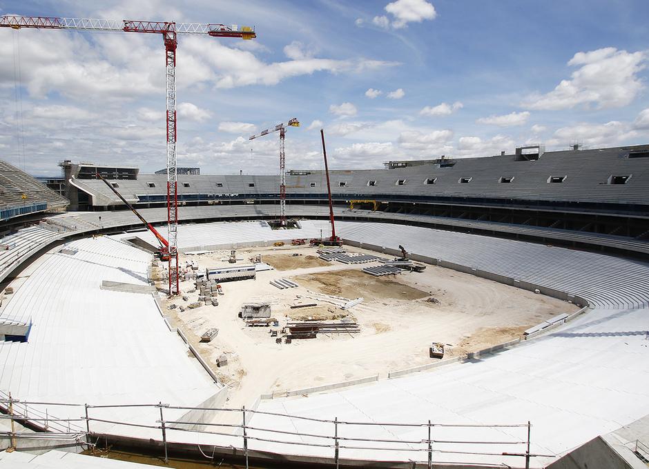 Visita nuevo estadio - 31/05/2016