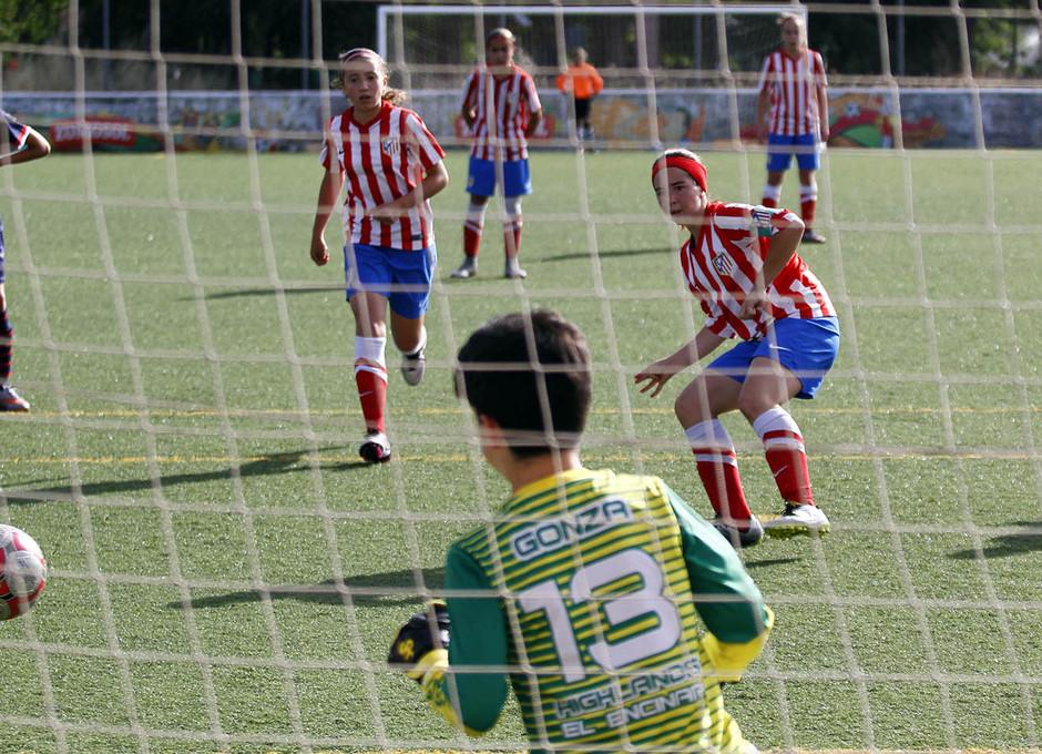 Temporada 2015-2016. Atético de Madrid Féminas Alevín 'A'. Torneo de campeones 2016.
