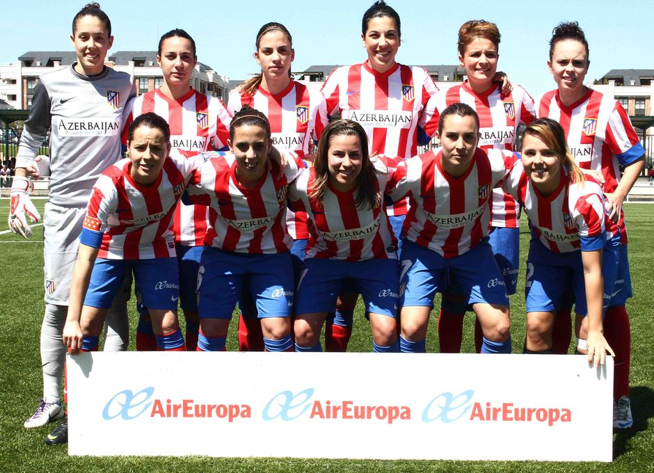 Temporada 2012-2013. Once del Féminas ante el Athletic