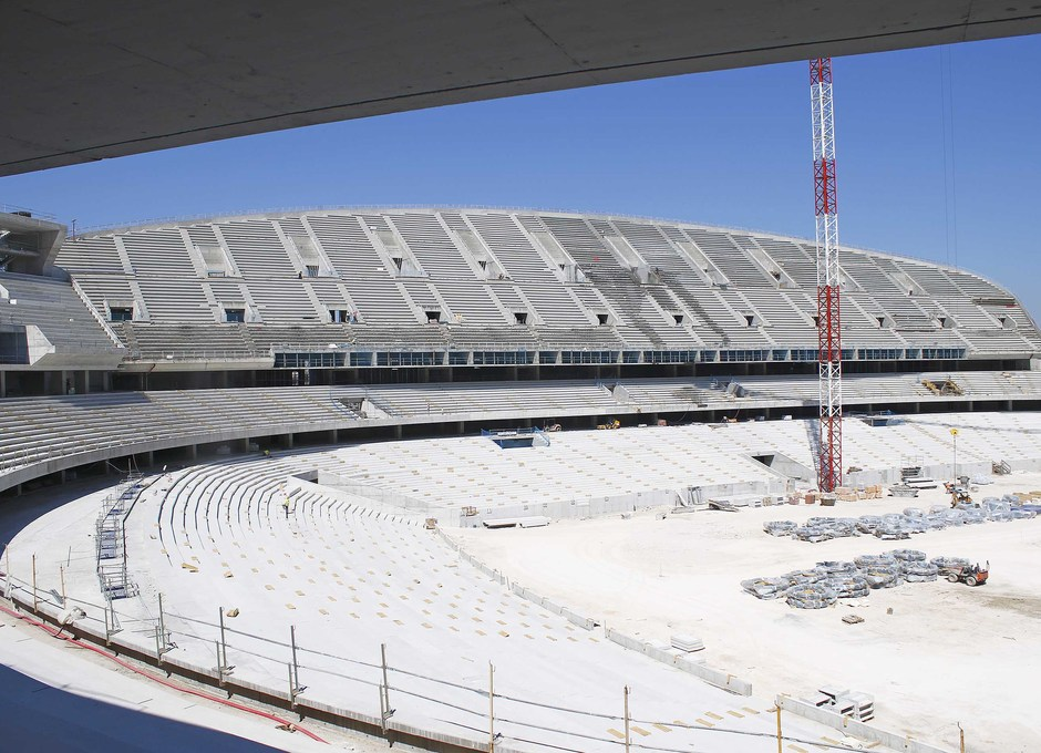 Visita Nuevo Estadio - 01/08/2016