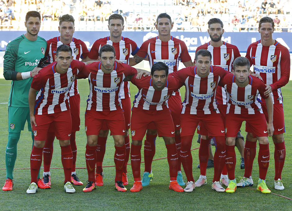 Pretemporada 16-17. Cádiz - Atlético de Madrid. Carrasco